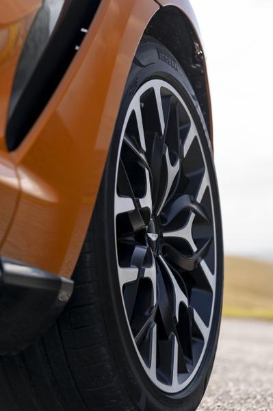 DBX - Golden Saffron wheel